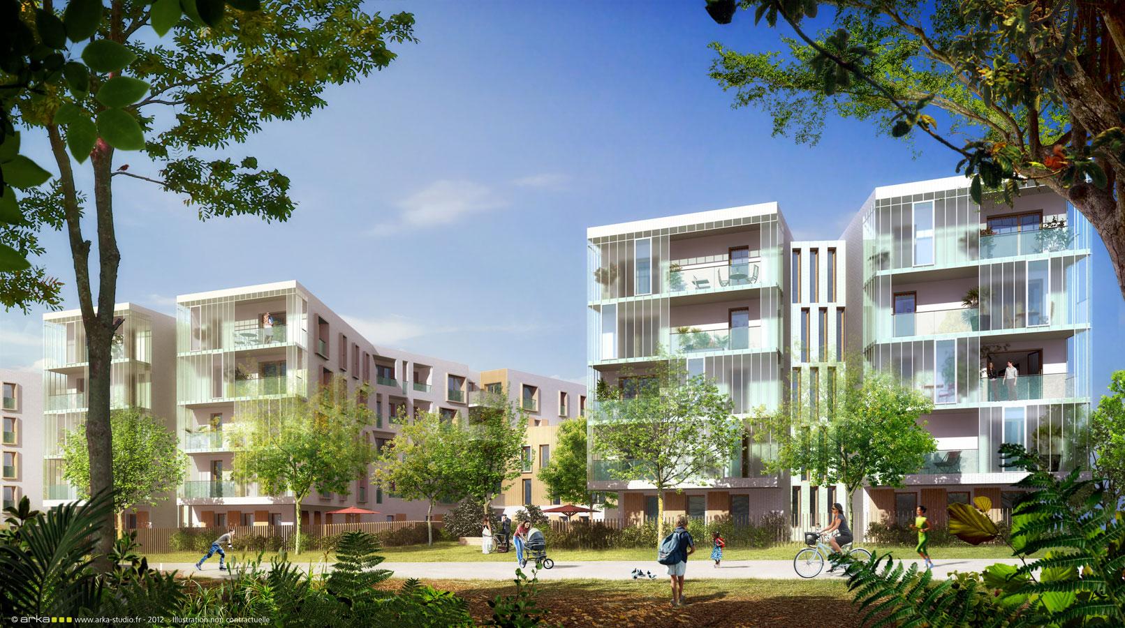 C t for t 76 appartements neufs palaiseau essonne for Acheter logement neuf
