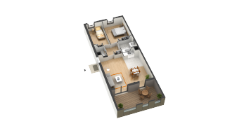plan appartement happy velizy